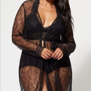 Other - Plus Size Sheer Robe